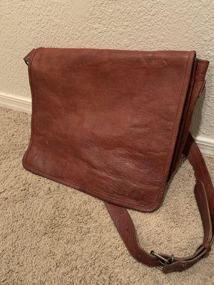 Leather messenger bag for Sale in Chandler, AZ