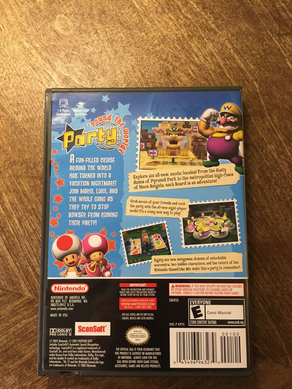 Mario Party 7 With Microphone for GameCube— Disc doesn't fully read