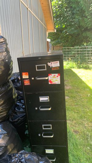 Two file cabinet $15.00 Dollars Each for Sale in Graham, WA