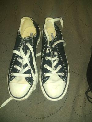 Black and White Converse All Stars for Sale in Dallas, TX