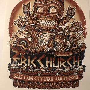 Erick Church Poster for Sale in Beaverton, OR