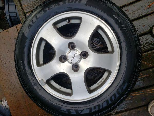 95 Acura gsr rims and tires 195/r15