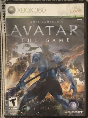Avatar the game Xbox 360 live for Sale in Lake Wales, FL