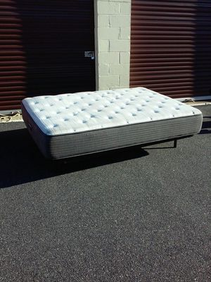 Full size mattress with futon frame for Sale in Virginia Beach, VA