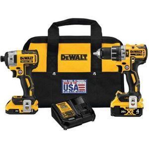 DeWalt 20V MAX* XR Cordless Hammer Drill/Driver & Impact Driver Combo Kit - DCK287D1M1 for Sale in Tumwater, WA
