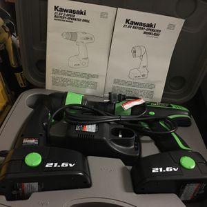 Kawasaki Drill Set (Never Used) for Sale in Miami, FL