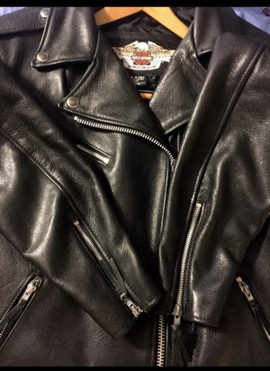 Genuine HD Leather Riding Jacket for Sale in Chesterfield, VA