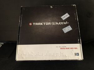 Traktor Scratch Pro Audio 8 *NEW* for Sale in San Diego, CA