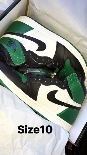 (((SIZE 9.5))) Jordan 1 Retro High OG Pine Green for Sale in Chicago, IL