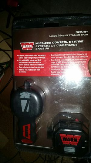 suv/truck winch wireless remote control for Sale in West Sacramento, CA