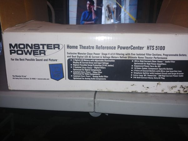 Monster home theater reference powercenter. HTS5100