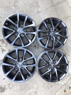 "17"" Lexus is250 is350 17x8 factory oem rims wheels original set for Sale in Rolling Hills Estates, CA"