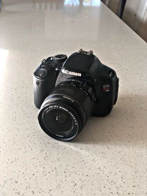 Canon EOS Rebel T3i Digital Camera with EF-S 18-55mm lens for Sale in Santa Ana, CA