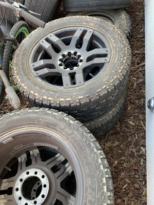 20 inch fuel rims for Sale in Bakersfield, CA