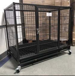 Brand New Heavy Duty Dog Pet Kennel Cage Crate In Factory Sealed 📦 Rubber mat floor included🐾see Dimensions In Second Picture🐕 Available Today 🇺🇸 for Sale in Glendale,  AZ