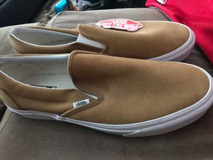 BRAND NEW BROWN SUADE VANS for Sale in Fremont, CA