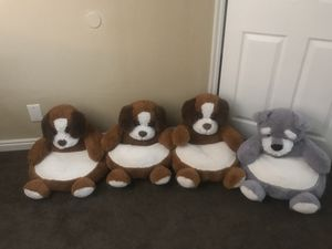 Plush Puppy Chairs Toddler Chair Kids Chair for Sale in Salt Lake City, UT