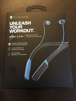 Skullcandy Unleash Your Workout Wireless Sport Earbud Brand New for Sale in Folsom, CA