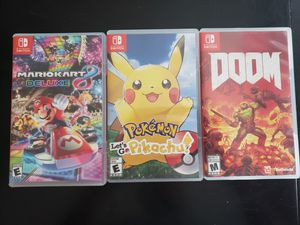 Nintendo switch games for Sale in Beaumont, CA