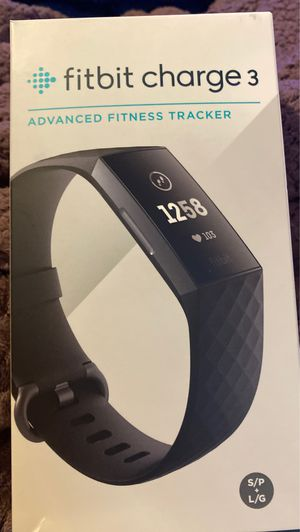 Fitbit charge 3 advanced fitness tracker pair with phone, track fitness stay connected ! for Sale in Port Richey, FL