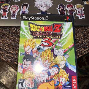 Dragon Ball Z Budokai Tenkaichi Ps2 Taking Offers for Sale in Houston, TX