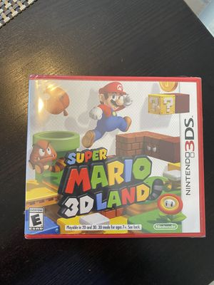 BRAND NEW & SEALED Super Mario 3D Land (Nintendo 3DS, 2DS, 2011) for Sale in Fayetteville, NC
