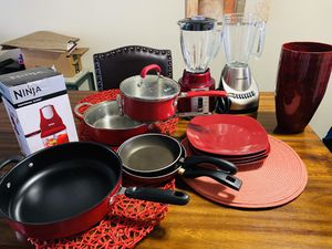 Kitchen stuff ask for price ALL RED for Sale in Clearwater, FL