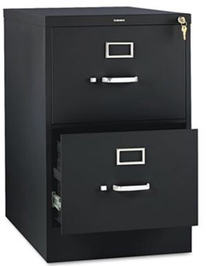 New!! 2 drawer filing cabinet in black for Sale in Tempe, AZ