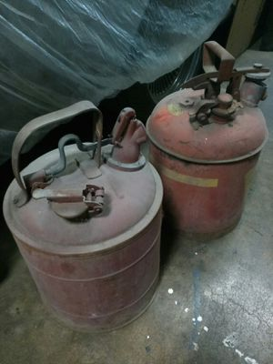 Vintage gas cans for Sale in Modesto, CA