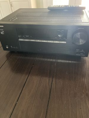 ONKYO AV RECEIVER for Sale in Phoenix, AZ