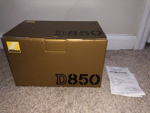 Nikon D850 Digital SLR Camera Body 45.7MP 4K DSLR -BRAND NEW IN BOX for Sale in Ashburn, VA
