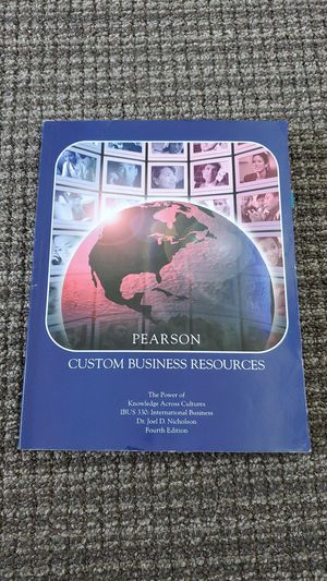 [Used] Pearson Custom Business Resources: IBUS 330 for Sale in Redwood City, CA