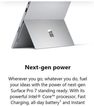 Microsoft surface pro 7 128gb unlocked for Sale in Seattle, WA
