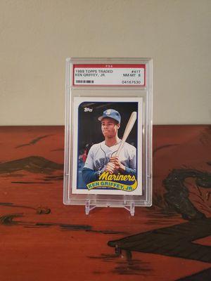 1989 Topps PSA Ken Griffey Jr rookie card for Sale in Alexandria, VA