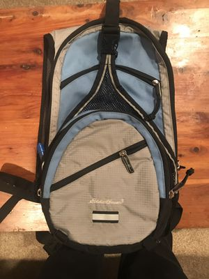 Eddie Bauer BACKPACK Daypack Hiking Camping Survival (Water Bladder included) for Sale in Littleton, CO