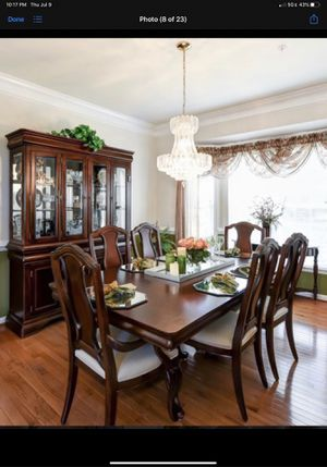 Dining Room Set (table, chairs, buffet/sideboard, and china cabinet) for Sale in Brandywine, MD