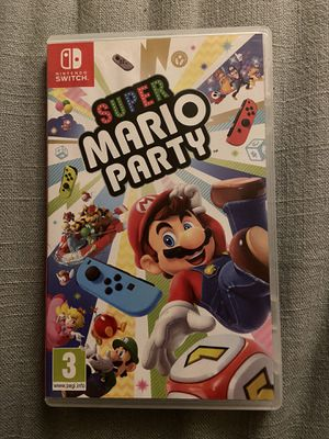 Nintendo Switch Super Mario Party Game and Case for Sale in Los Angeles, CA
