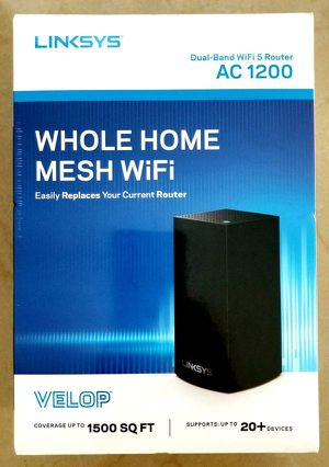 Linksys Dual Band AC1200 Mesh WiFi System | Router | Expandable! for Sale in Miami, FL