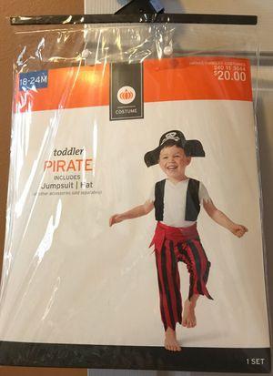 Toddler Pirate Costume for Sale in Destin, FL