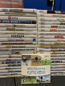 Nintendo Wii Games STARTING @ $3 DO NOT ASK HOW MUCH! PRICES ARE ON THE AD!! for Sale in Nuevo,  CA