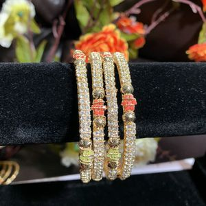 beautiful bangles with stones . for Sale in Arlington, VA