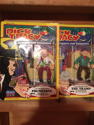 Dick Tracey 1990 playmate action figures for collecting, and toy hunters alike for Sale in Salem, NH
