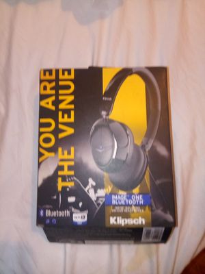 BRAND NEW .. KLIPSCH IMAGE ONE BLUETOOTH ON EAR NOISE ISOLATING ON EAR HEADPHONES for Sale in Medford, MA