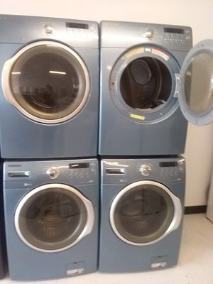 Samsung washer and dryer used good condition 90days warranty 🔥🔥 for Sale in Mount Rainier, MD