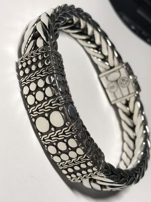 "Xl John Hardly Bracelet 115Gr Sterling Silver will fit up to size 9"" ORIGINAL $1590 for Sale in Miami, FL"