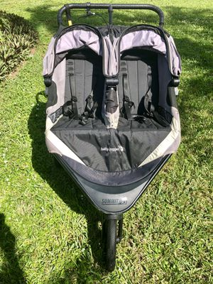 Double Jogging Stroller - Summit X3 by baby jogger for Sale in Fort Pierce, FL