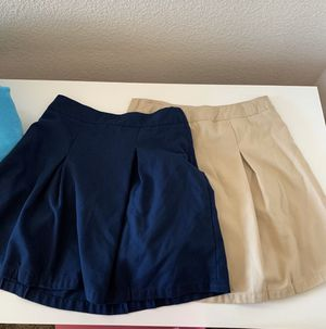 Girls like new uniform skirts size 16 for Sale in Antioch, CA