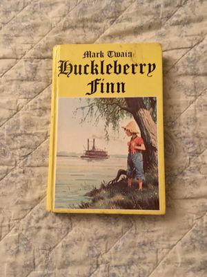 Vintage 1982 Mark Twain-Huckleberry Finn (Printed in Hungary) for Sale in Wichita, KS