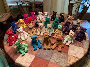 29 Beanie Babies NEVER USED, EXCELLENT condition for Sale in Wichita, KS