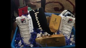 Customized furr boots/ gift baskets for Sale in Eastman, GA